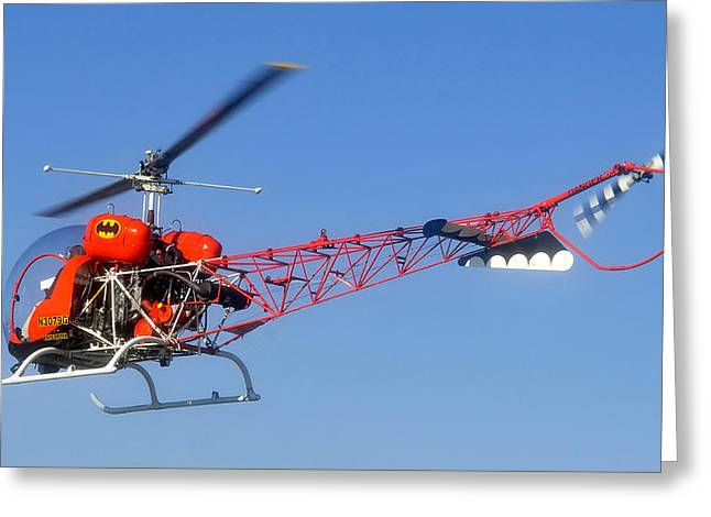 Batcopter Greeting Card