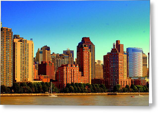 Battery Park City New York Ny Greeting Card