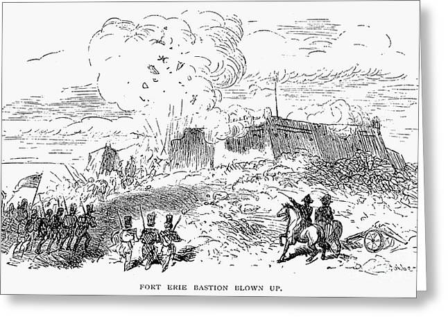 Battle Of Fort Erie, 1814 Greeting Card by Granger