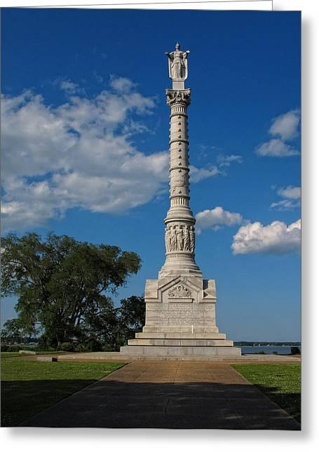 Battle Of Yorktown Monument Greeting Card