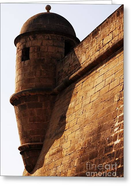 Battlement Greeting Card