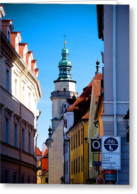 Bavarian Corridor  Greeting Card by Anthony Citro