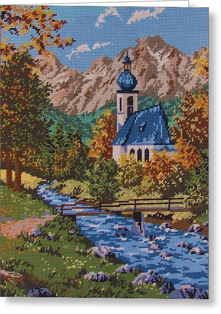 Bavarian Country Greeting Card by M and L Creations Craft Boutique