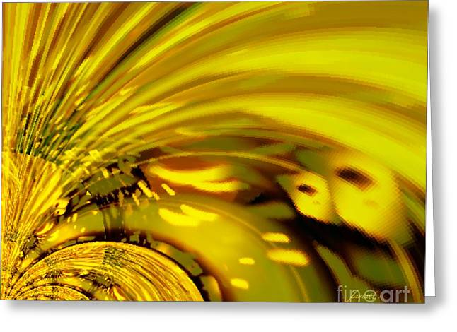 Be Magnified Greeting Card by Fania Simon