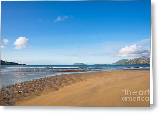 Beach Ireland Greeting Card by Andrew  Michael