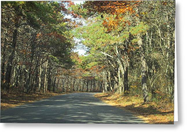 Beach Road Greeting Card