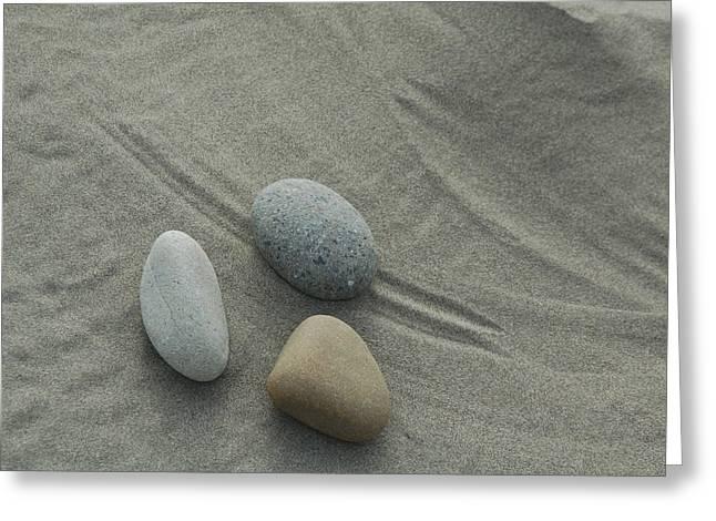 Beach Rocks Still Life Greeting Card