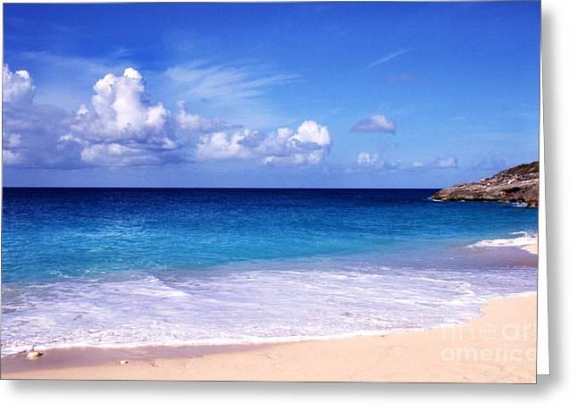 Beach Serenity Greeting Card by Thomas R Fletcher