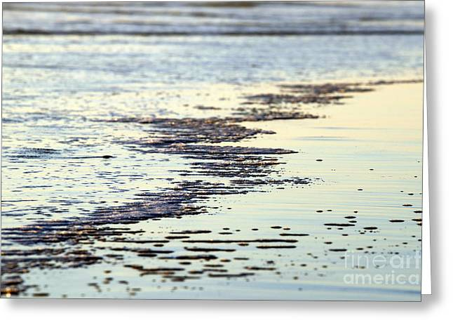 Beach Water Greeting Card