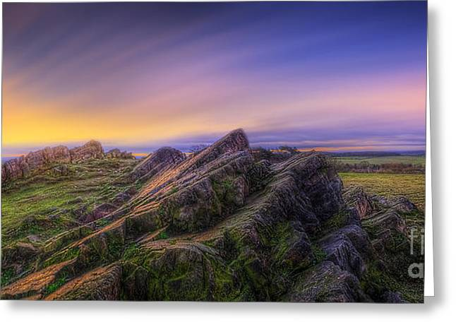 Beacon Hill Sunrise 7.0 Greeting Card by Yhun Suarez
