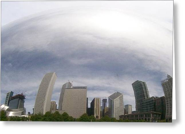Bean Skyline Greeting Card