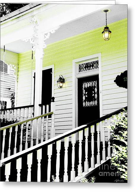 Beauregard Town Baton Rouge Greeting Card
