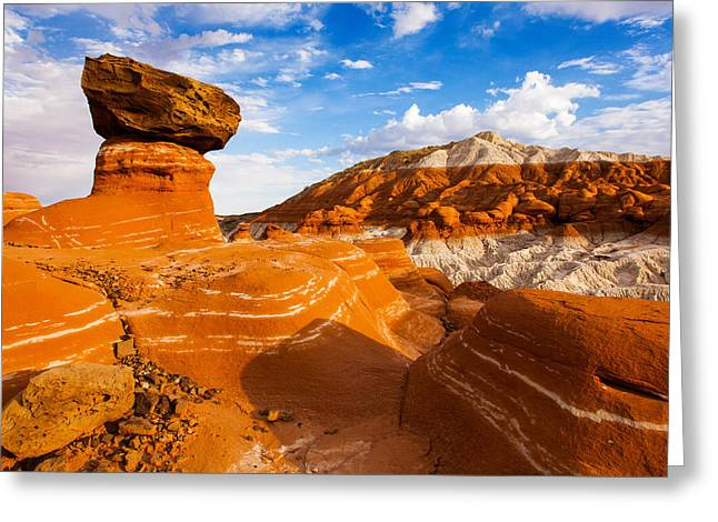 Beautiful Badlands Greeting Card by James Marvin Phelps