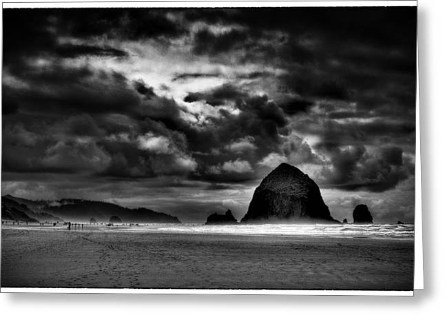 Beautiful Cannon Beach Oregon Greeting Card by David Patterson