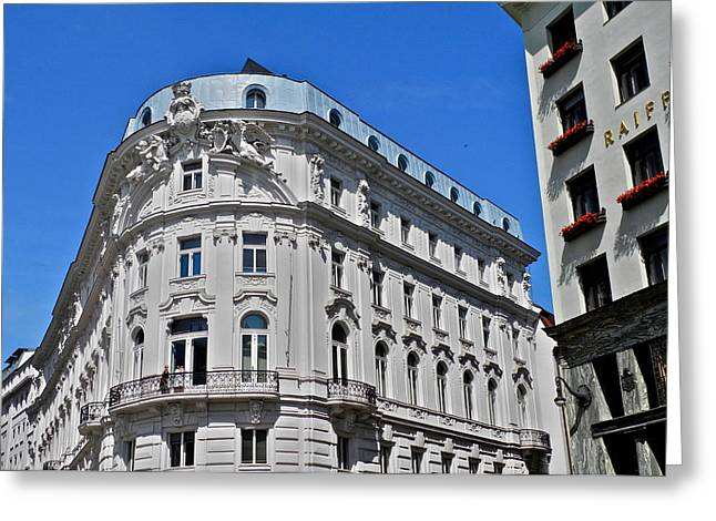 Beautiful Classic Viennese Building Greeting Card by Kirsten Giving