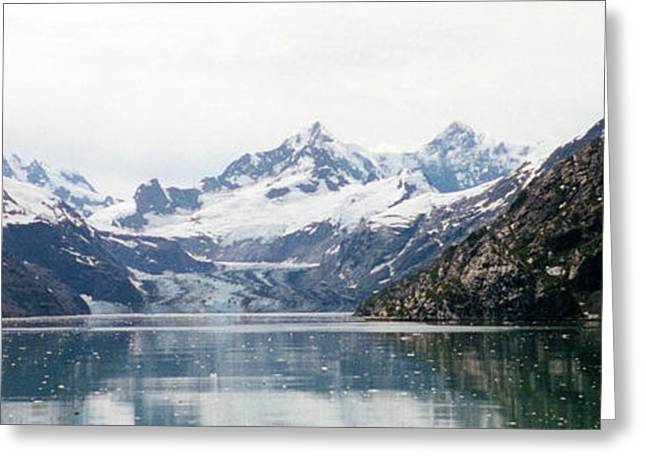 Beautiful Glacier Bay Greeting Card