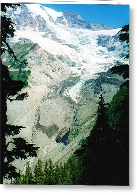 Beautiful Glacier Greeting Card