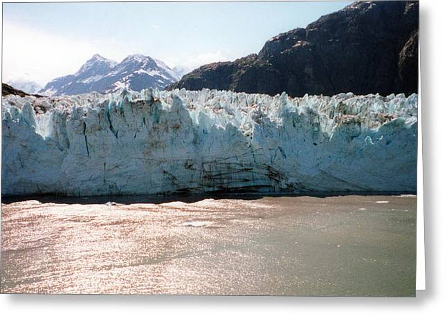 Beautiful Margerie Glacier Greeting Card