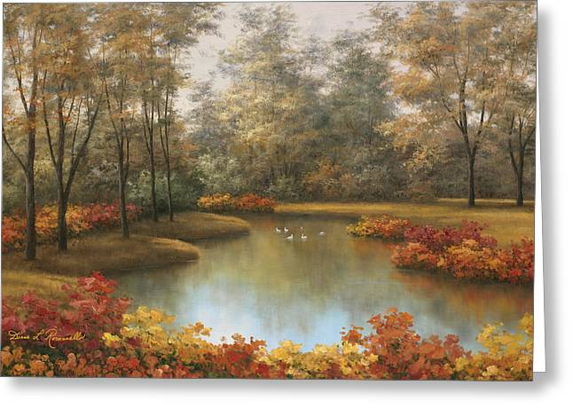 Beauty Of Autumn Greeting Card