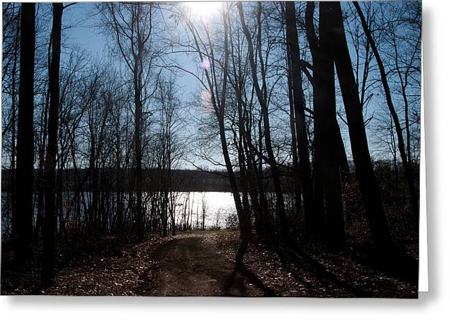 Beauty Of Light Greeting Card by Herman Boodoo