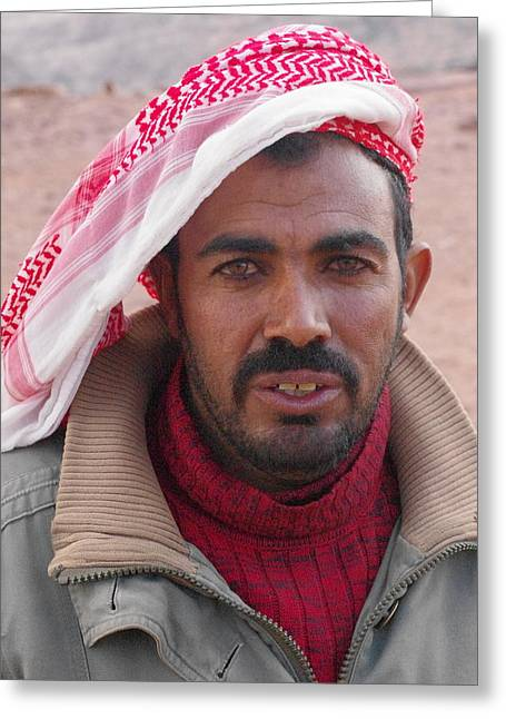 Bedouin Greeting Card by David George
