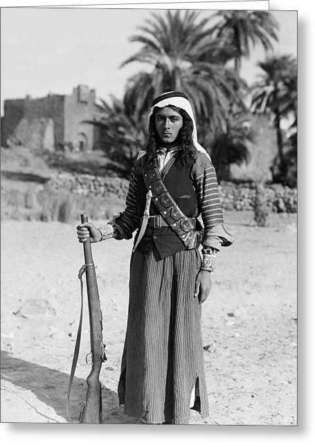 Bedouin Youth, C1926 Greeting Card by Granger