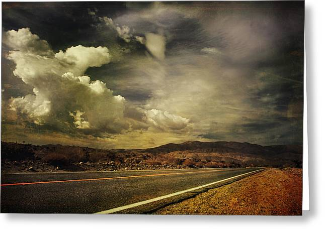 Been Down This Road Before Greeting Card by Laurie Search