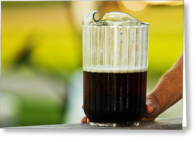 Beer 30 Somewhere Greeting Card by Edward Peterson