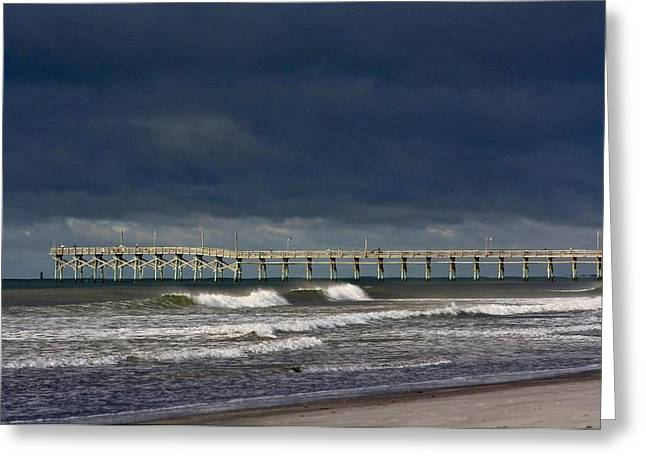 Greeting Card featuring the photograph Before The Storm by Laurinda Bowling