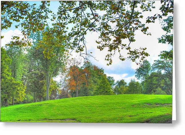 Greeting Card featuring the photograph Beginning Of Fall by Michael Frank Jr
