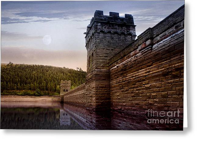 Behind The Wall Greeting Card by Martin Jones