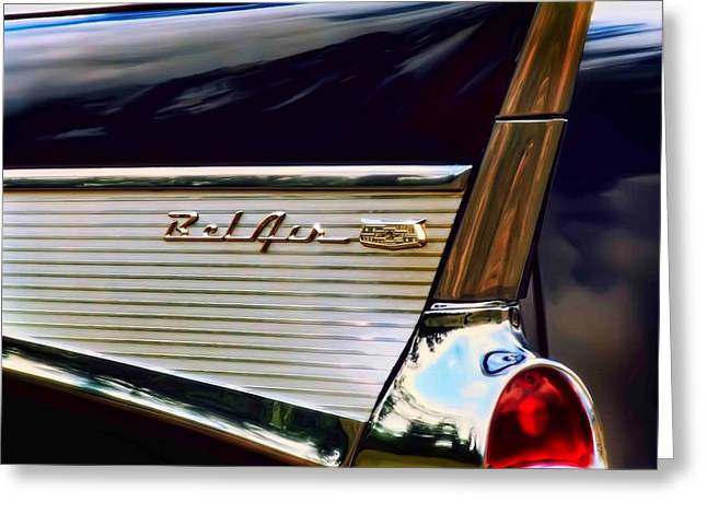Bel Air Greeting Card by Scott Norris