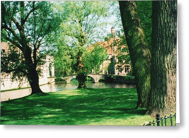 Belgian Park Greeting Card