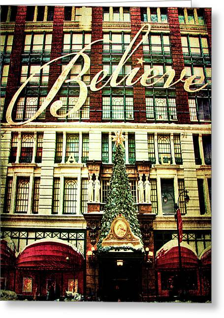 Believe Greeting Card by Chris Lord