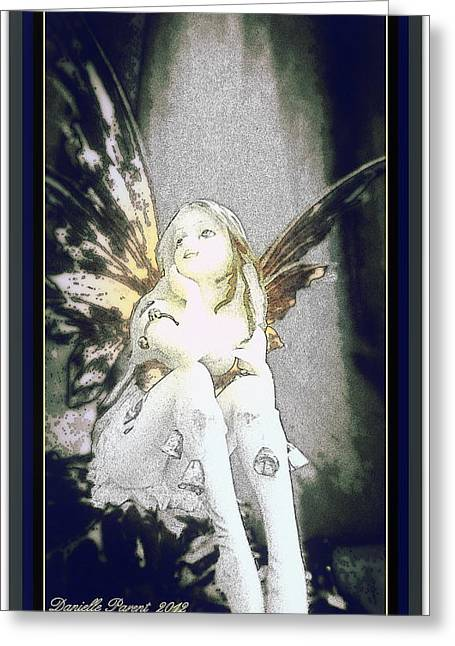 Bell Fairy  Greeting Card by Danielle  Parent