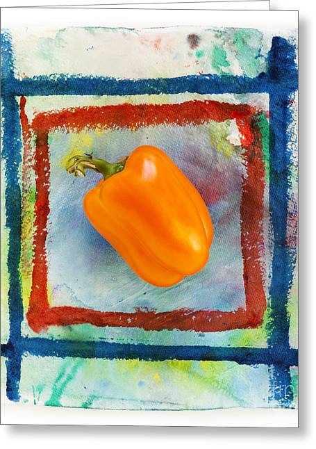 Bell Pepper  Greeting Card by Igor Kislev
