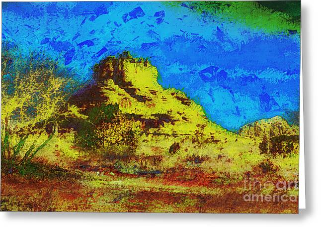 Bell Rock Greeting Card by Julie Lueders