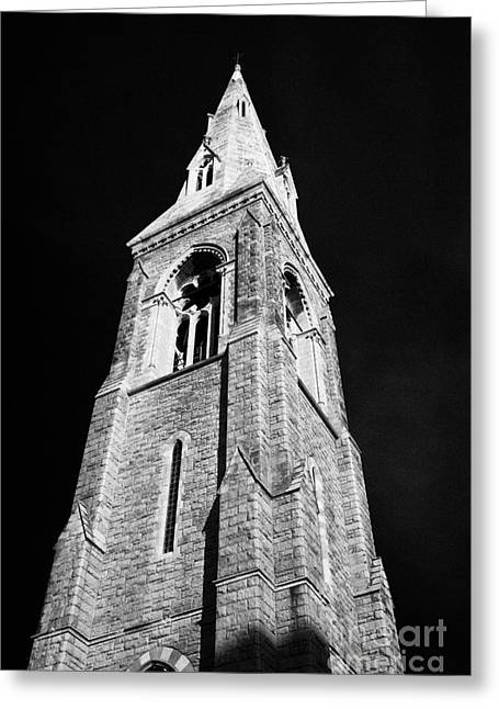 Bell Tower Of The Mariners Church Now The National Maritime Museum Dun Laoghaire Dublin Greeting Card