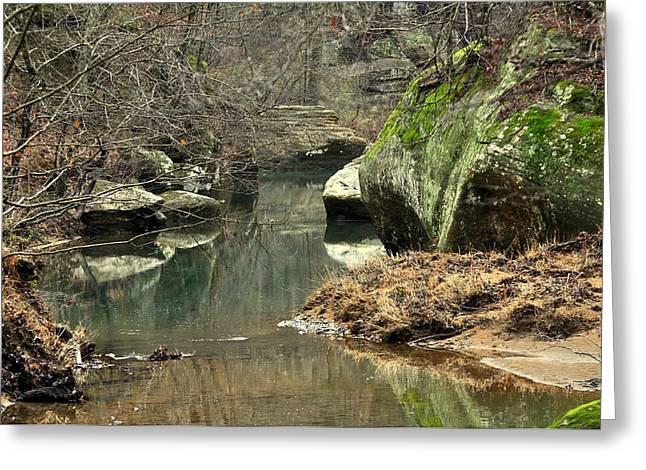 Bellsmith Creek Greeting Card by Marty Koch