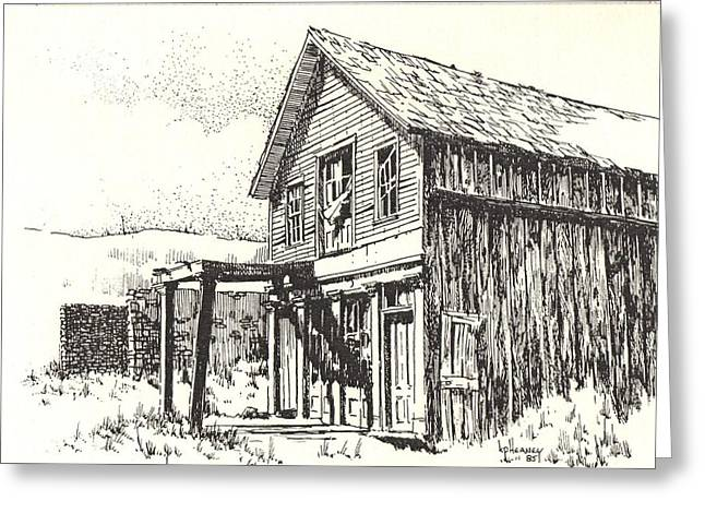 Belmont Ghost Town Nevada Greeting Card by Kevin Heaney