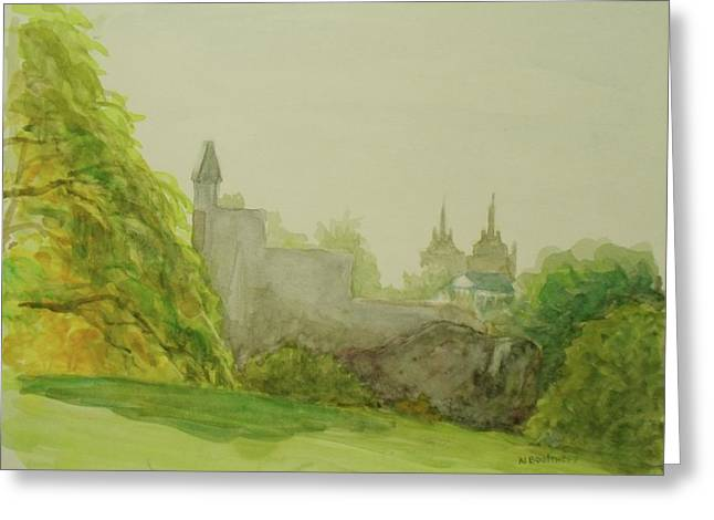 Belveder Castle Central Park Ny Greeting Card