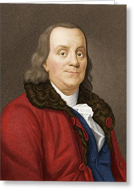Benjamin Franklin, American Scientist Greeting Card