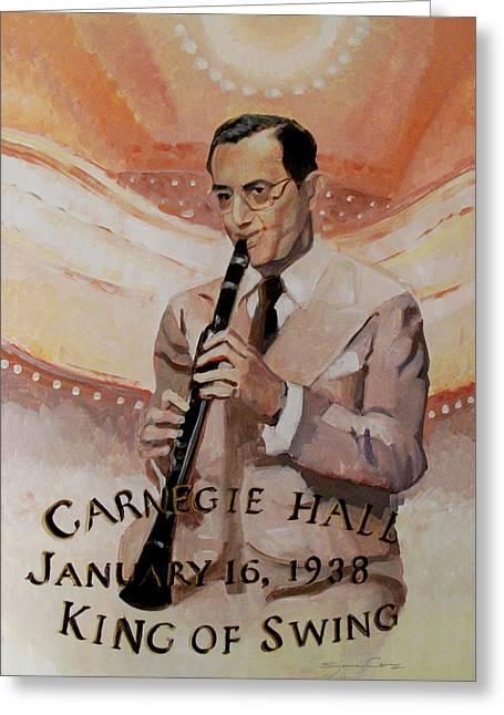 Benny Goodman Portrait Greeting Card