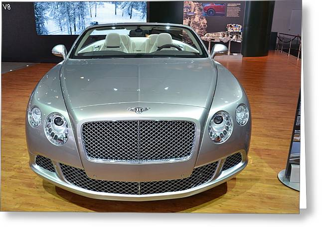 Bentley Starting Price Just Below 200 000 Greeting Card
