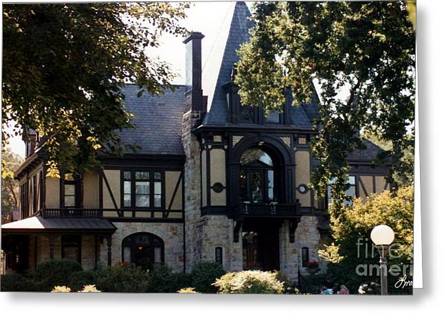Beringer House Greeting Card by Lorraine Louwerse