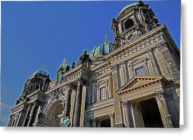 Berlin Cathedral Greeting Card by Juergen Weiss