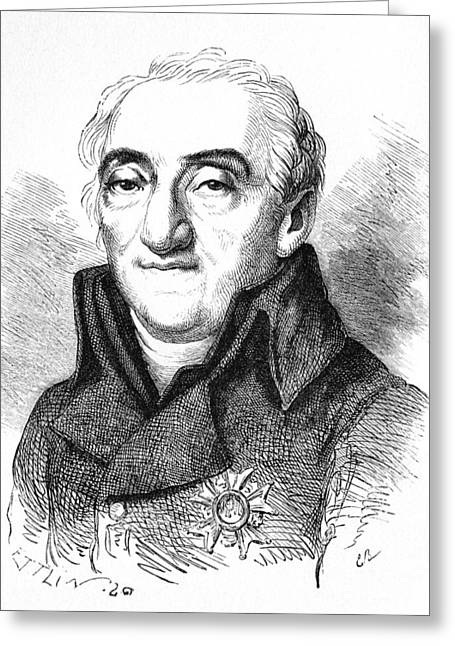 Bernard De Lacepede, French Naturalist Greeting Card by