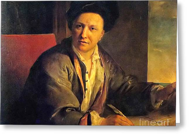 Bernard Le Bovier De Fontenelle, French Greeting Card by Science Source