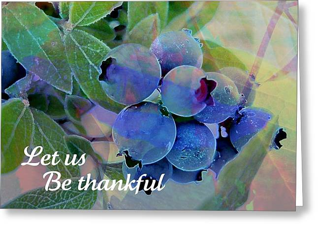 Berry Beautiful Greeting Card by Shirley Sirois