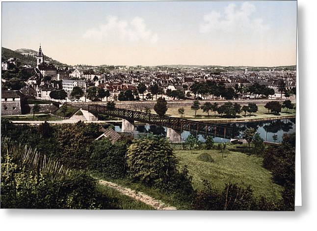 Besancon - Doubs - France Greeting Card by International  Images